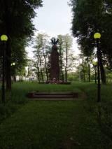 Nowe Iganie. Pomnik bitwy pod Iganiami.