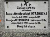 Zieluń. Grób Gracjana Otrembskiego.