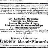 """Nekrolog z """"Kuriera Warszawskiego"""" z 09.02.1919 r."""