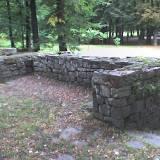 Część tylna głównej ściany