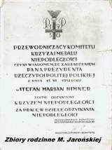 Fot. ze zbiorów rodzinnych Małgorzaty Jarońskiej.