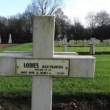 Grób kapitana Jean-François Lobies.