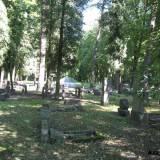 Część niemiecka cmentarza garnizonowego w Grudziądzu.