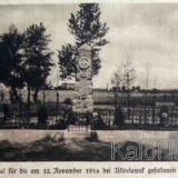 Włocławek. Cmentarz poległych w listopadzie 1914 r.