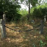 Szadek, kwatera wojenna na cmentarzu ewangelickim