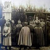 Cekanowo. Odsłonięcie pomnika w 1915 r.