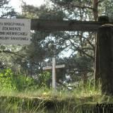 Dzbądzek/Zaorze. Cmentarz wojenny.