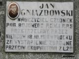 Tablica ku czci Jana Gniazdowskiego, żołnierza POW.