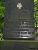 grób Józefa Świątkowskiego, kawalera krzyża św. Jerzego