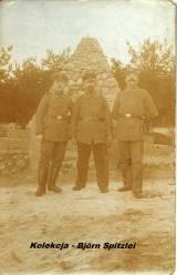 Pomnik jeńców rosyjskich - druga połowa 1915 r.