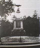 Pomnik poświęcony mieszkańcom Świętego Gaju poległym w czasie I w. ś.