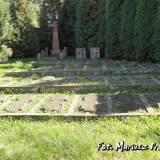 Brześć. Kwatera wojenna na cmentarzu katolickim.