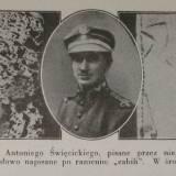 """Fotografia pochodzi z """"Ku czci poległych lotników. Księga pamiątkowa"""" (1933)"""