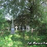 Cmentarzyk w Burakach koło Falewicz.