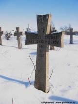 grób ułana z 13 pułku