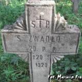 Mogiła żołnierza 20 pp.