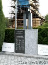 Olbrachcice. Pomnik poległych i zamordowanych.