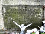 Tablica na grobie kpr. Chrabąszczewskiego