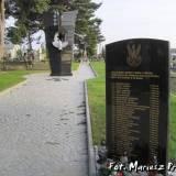 Kwatera wojenna w Chorzelach.
