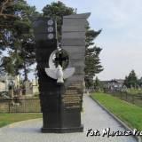 Pomnik odsłonięty w 2010 roku.