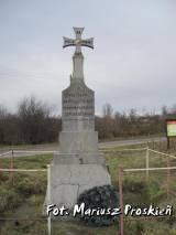 Pomnik żołnierzy 212 pułku ułanów.