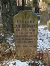 Grób kpt. Ryszarda Downar-Zapolskiego.