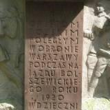 Pomnik Orląt Warszawskich.