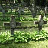 Groby poległych pod Ossowem.