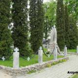 Kwatera poległych w 1920 r. w Wyszkowie.