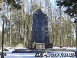 Pomnik na cmentarzu wojskowym w Białymstoku.