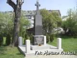 Pomnik żołnierzy 1 pułku piechoty legionów.