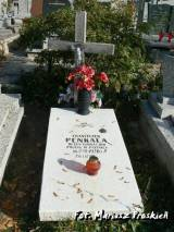 Grób Franciszka Penkali poległego w 1920 r.