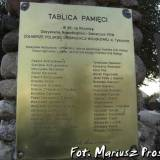 Tablica ku czci zołnierzy POW.