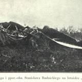 Rozbity samolot z 16 Eskadry Wywiadowczej.