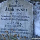 Tablica z grobu ppor. pil. K.Jankowskiego.