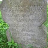 Grób posterunkowego A. Kluka