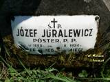 Ś. + P. JÓZEF JURALEWICZ / POSTER. P.P. / UR. 1899 R. / ZM. ... II. 1924 R. /...
