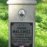 Modlin. Grób płk Edwarda Malewicza.