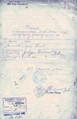 Wniosek o odznaczenie szwol. Szymona Fornala.