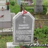 Symboliczny grób Tadeusza Jasińskiego.