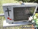 Pomnik nagrobny lotników z 13 esk. obserwacyjnej.