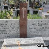 Myszyniec. Mogiła zamordowanych w styczniu 1945 r.