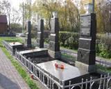 Kijów. Cmentarz Darnicki - mogiła zbiorowa.